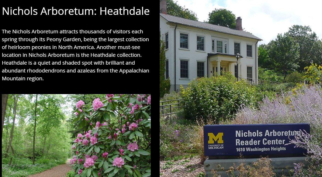 Nicholas Arboretum Tour