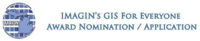 Click to view GIS for Everyone Nomination Form